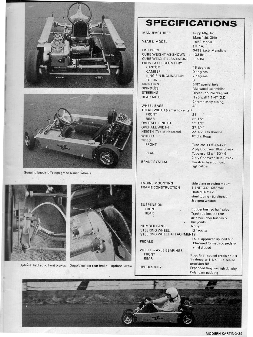 Lost Enduros: Rupp Model J Manual