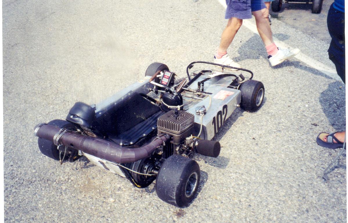 Lost Enduros Woodbridge Kart Club Vintage Racing